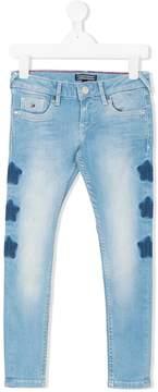 Tommy Hilfiger Junior Sophie star print skinny jeans