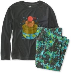 L.L. Bean L.L.Bean Boys' Jersey-Knit PJs, Raglan-Sleeve