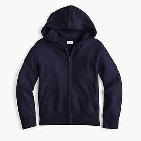 J.Crew Girls' cashmere hoodie