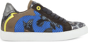 Zadig & Voltaire Taille leather trainers