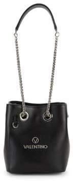 Mario Valentino Babou Leather Bucket Bag