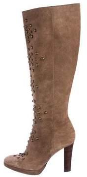 Barbara Bui Studded Knee-High Boots