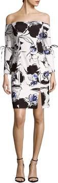 Alexia Admor Women's Solid Ruffle Hem Sheath Dress