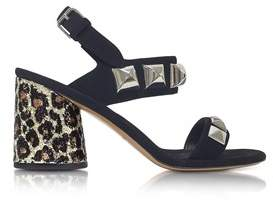 Marc Jacobs Women's Black Suede Sandals.