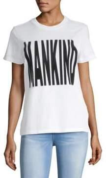 7 For All Mankind Graphic Cotton Tee