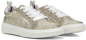 Tommy Hilfiger Kids' Glam Glitter Sneaker Pre/Grade School
