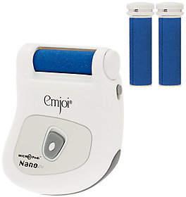 Emjoi Micro-Pedi Nano Callus Remover w/2 BonusRollers