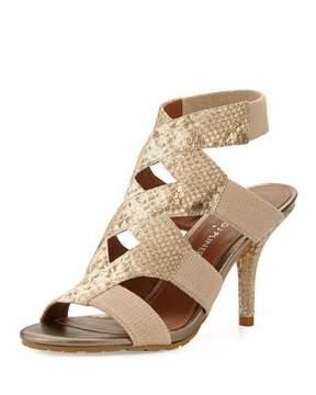 Donald J Pliner Gwen Stretch Ankle Sandal, Bronze