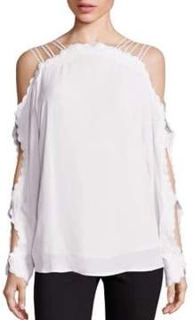 Alice McCall Another Love Cold Shoulder Top