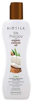 BioSilk Organic Coconut Oil 3-N-1 Shampoo - 5.6 oz.
