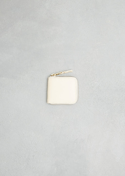 Comme des Garcons WALLET off white classic leather line coin purse