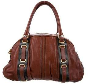 Marc Jacobs Hudson Leather Tote - BROWN - STYLE