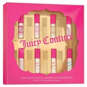 Juicy Couture Sampler by Women's Fragrance Gift Set - 8pc