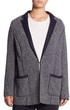 Basler Basler, Plus Size Plus Regular-Fit Nubby Jacket