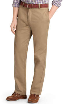 Izod Men's American Classic-Fit Wrinkle-Free Flat Front Chino Pants