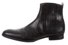 Pierre Hardy Leather Chelsea Boots