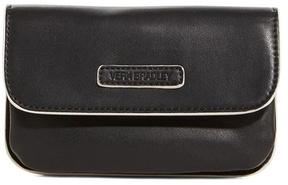 Vera Bradley Black Drawstring Backpack & Snap & Zip Case - BLACK - STYLE