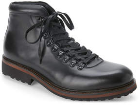 Kenneth Cole Reaction Black Climb The Rope Lace-Up Boots