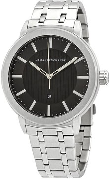 Armani Exchange Street Black Dial Men's Watch