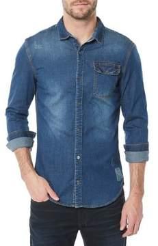 Buffalo David Bitton Somtelx Denim Button-Down Shirt