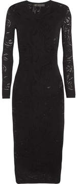 Versace - Open-knit Dress - Black