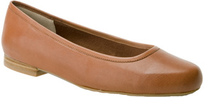 Ros Hommerson Tan Odelle Leather Flat - Women