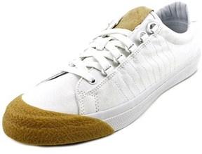 K-Swiss Irvine Men Round Toe Canvas White Sneakers.