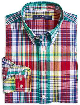 Brooks Brothers Boys' Madras Sport Shirt - Little Kid, Big Kid