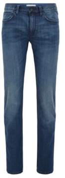 HUGO Boss Cotton Blend Jeans, Slim Fit 708 32/32 Dark Blue