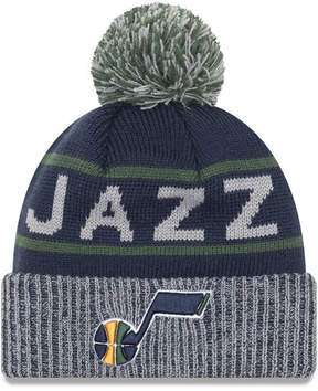 New Era Utah Jazz Court Force Pom Knit Hat