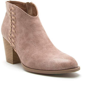 Qupid Warm Taupe Prenton Bootie - Women