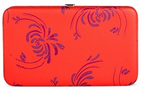 Merona Women's Cabana Orange Floral Clutch