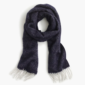 J.Crew Chevron fringe scarf