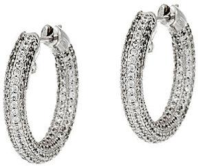 Elizabeth Taylor The Pave Hoop Earrings