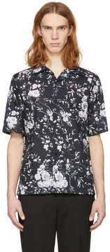 McQ Black Floral Billy Shirt