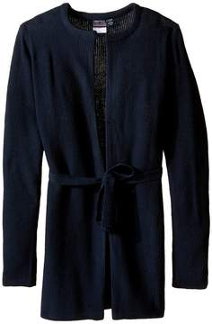 Nautica Seed Stitich Duster Cardigan Girl's Sweater