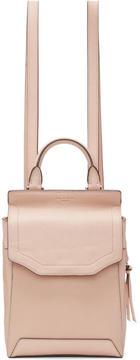 Rag & Bone Pink Small Pilot II Backpack