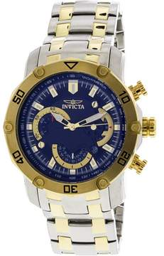 Invicta Men's Pro Diver 22768 Silver Stainless-Steel Japanese Chronograph Diving Watch