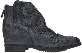 Julie Dee Wedge Snake Boots