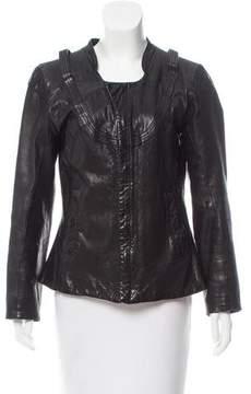Diesel Lightweight Leather Jacket