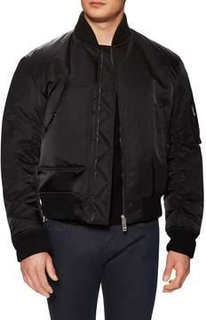 Jil Sander Men's Solid Stand Collar Bomber Jacket