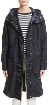 Belstaff Women's Claredon Hooded Raincoat