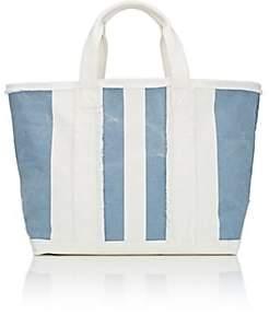 Barneys New York Women's Frayed Tote Bag-Lt. Blue