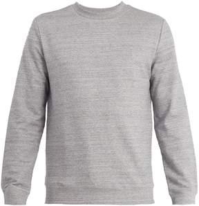 A.P.C. Crew-neck cotton-blend jersey sweatshirt