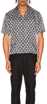 Maison Margiela Short Sleeve Printed Shirt