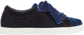 Fendi two-tone logo sneakers