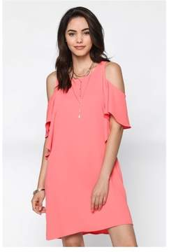 Everly The Coral Of The Story Shift Dress
