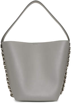 Givenchy Grey Infinity Bucket Bag