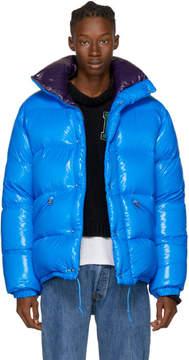 Moncler Blue Down Dejan Jacket