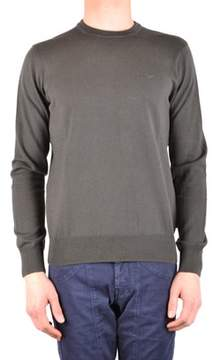 Armani Jeans Men's Green Cotton Sweater.